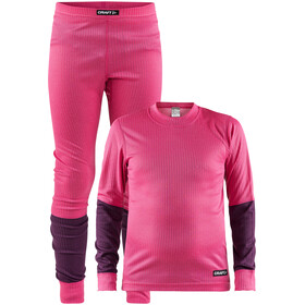 Craft Baselayer Set - Set de sous-vêtements Enfant - rose
